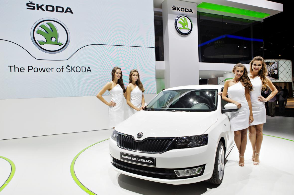 Škoda Rapid na autosalonu ve Frankfurtu