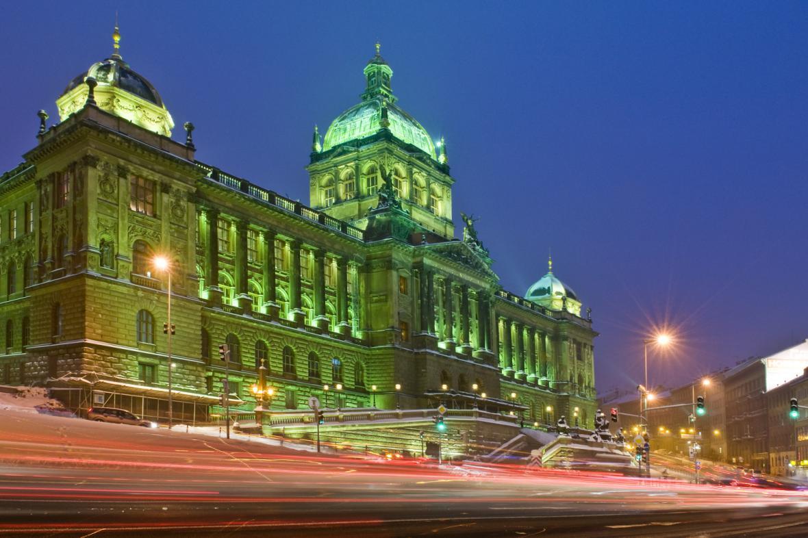 Historická budova Národního muzea v Praze