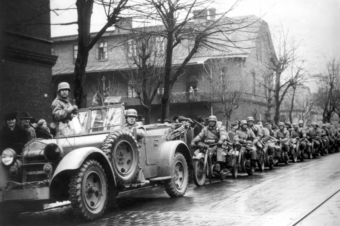 Obsazování Moravské Ostravy - březen 1939