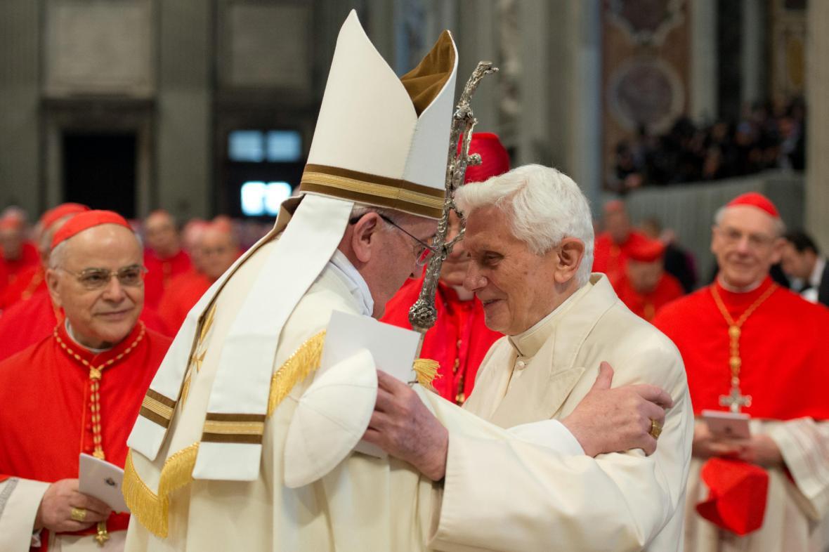 Papežské setkání při jmenování kardinálů