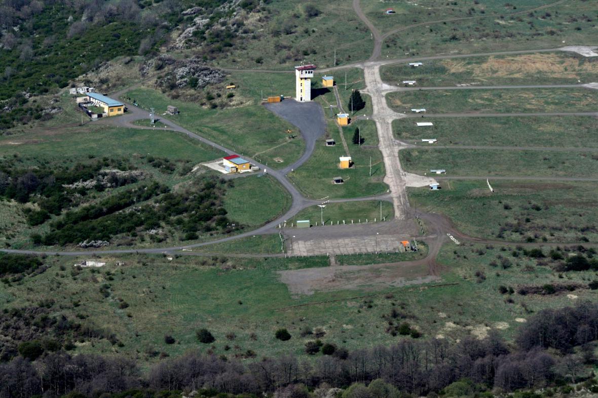 Vojenský újezd Hradiště v Doupovských horách