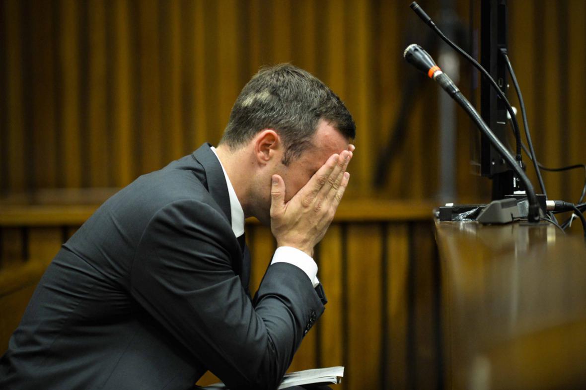 Pátý den soudu s Oscarem Pistoriusem