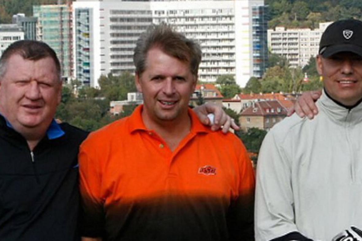 Ivo Rittig a Tomáš Jindra - na snímku s Petrem Bendlem (archivní foto)