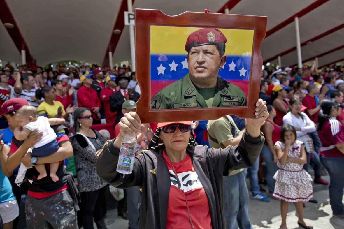 Venezuelané si připomněli první výročí úmrtí Huga Cháveze