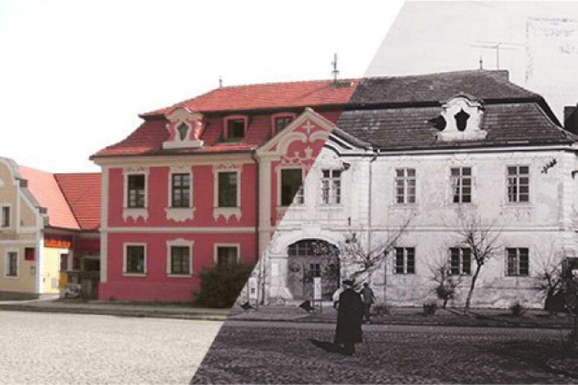 Kopáčkův dům na náměstí v Dobříši