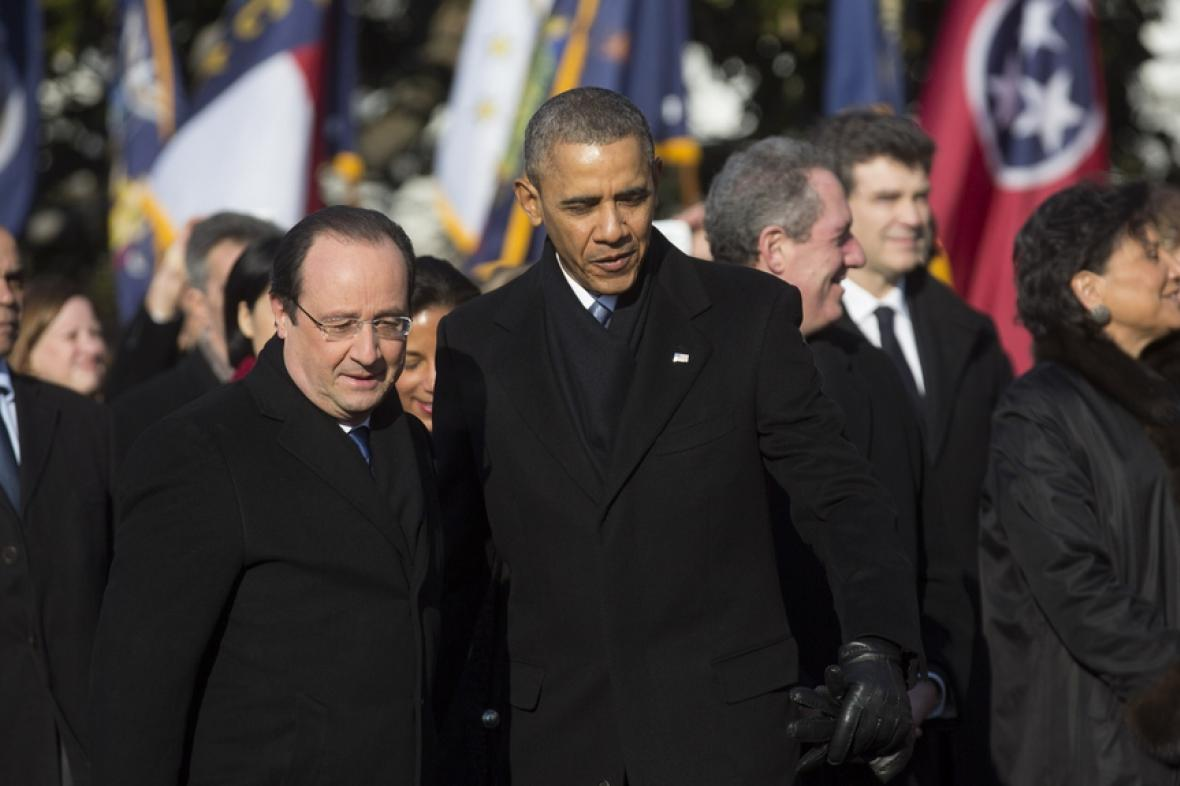 François Hollande a Barack Obama