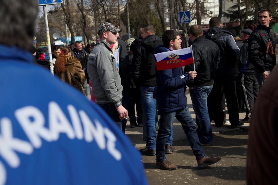 Vyhrocená situace na Ukrajině
