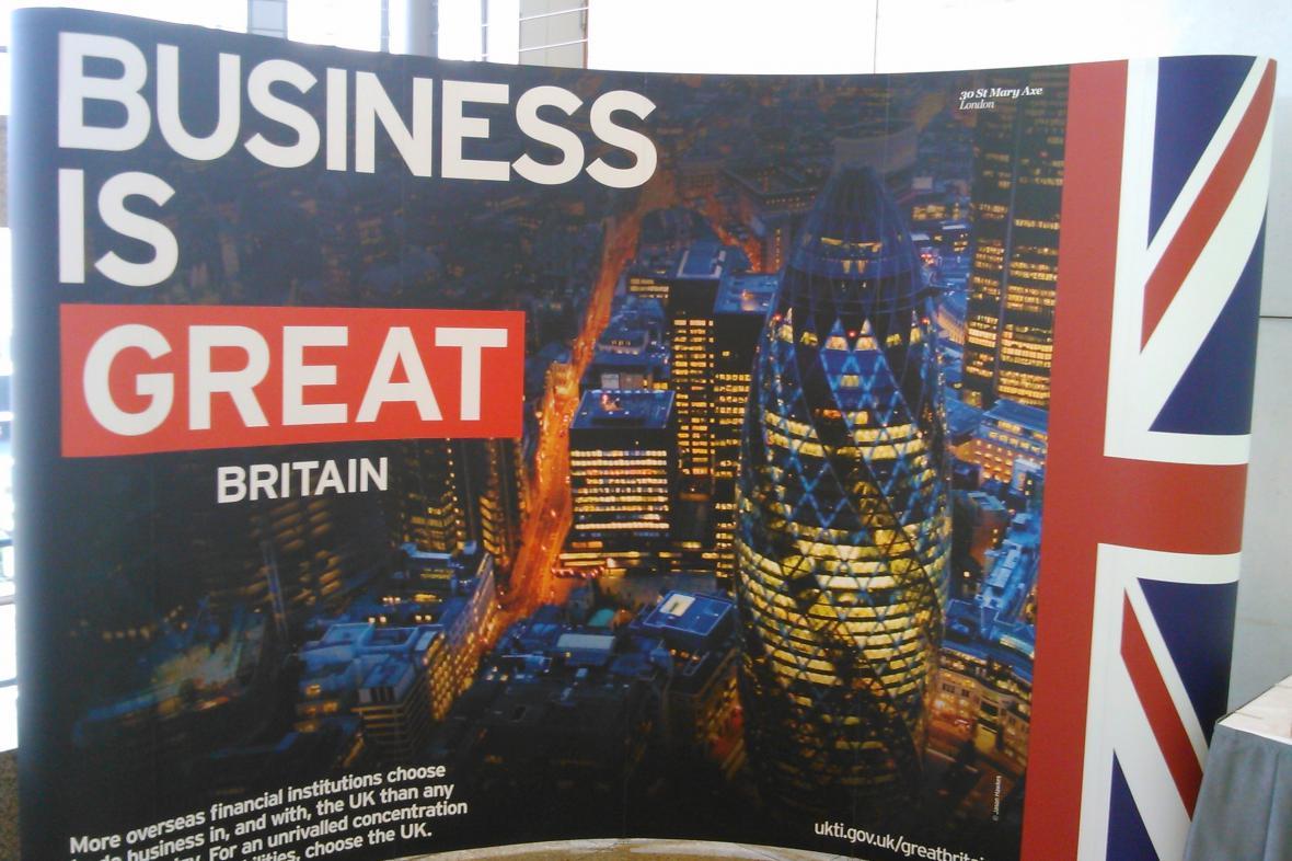Británie hledá nové trhy pro export a investice