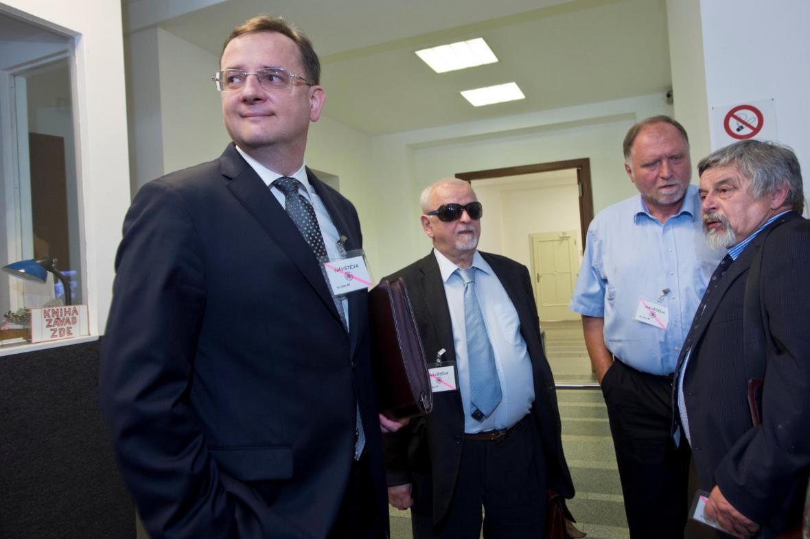 Petr Nečas, Eduard Bruna, Tomáš Sokol a Josef Lžičař