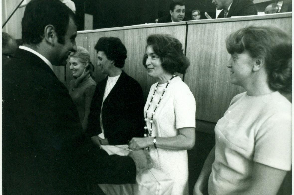Dana Špirková na archivním snímku