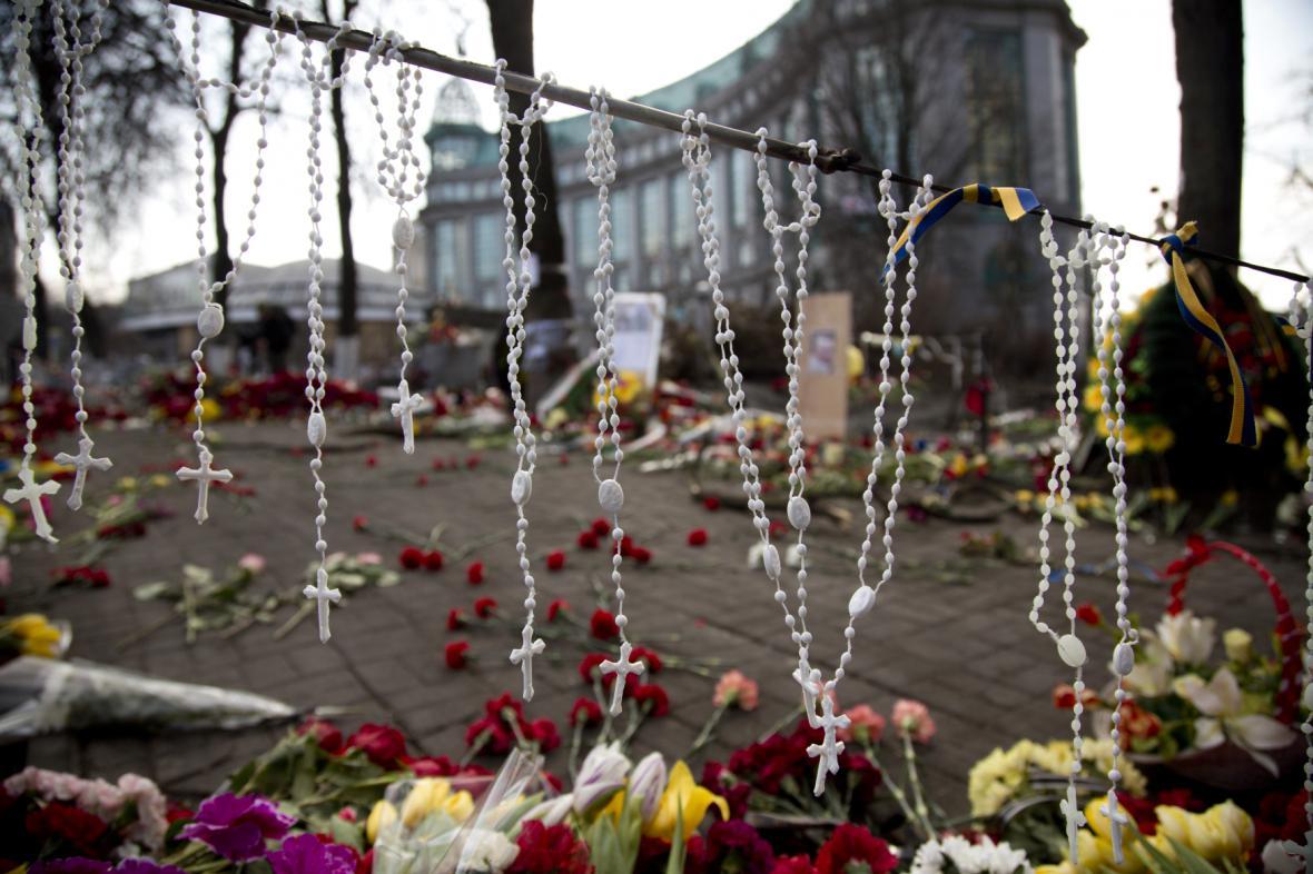 Kyjev: Náměstí Nezávislosti
