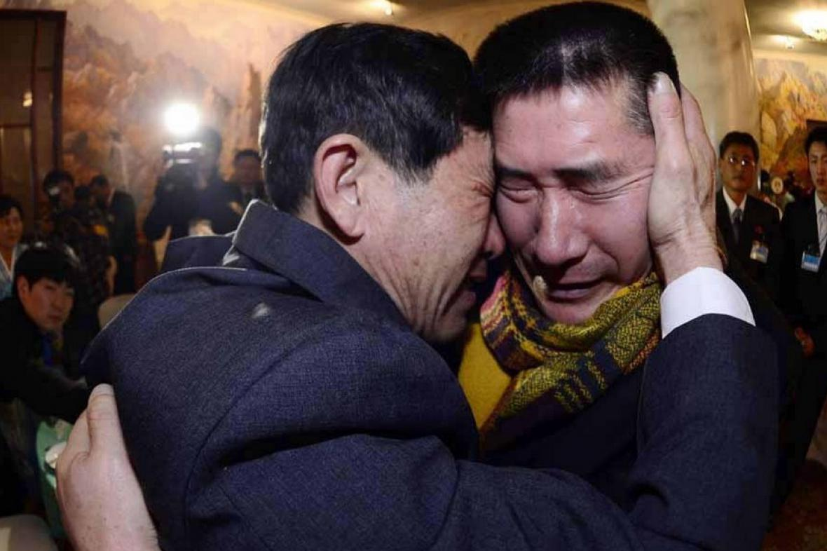 Setkání rozdělených korejských rodin