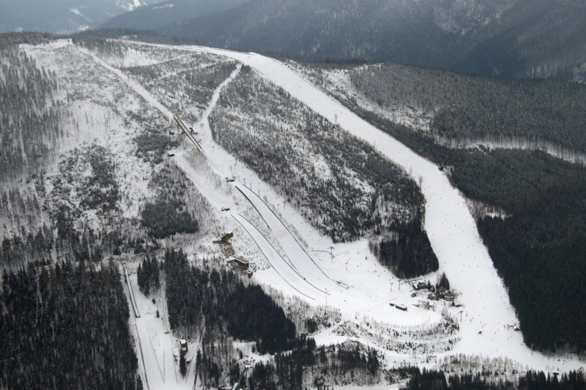 Harrachovský lyžařský areál
