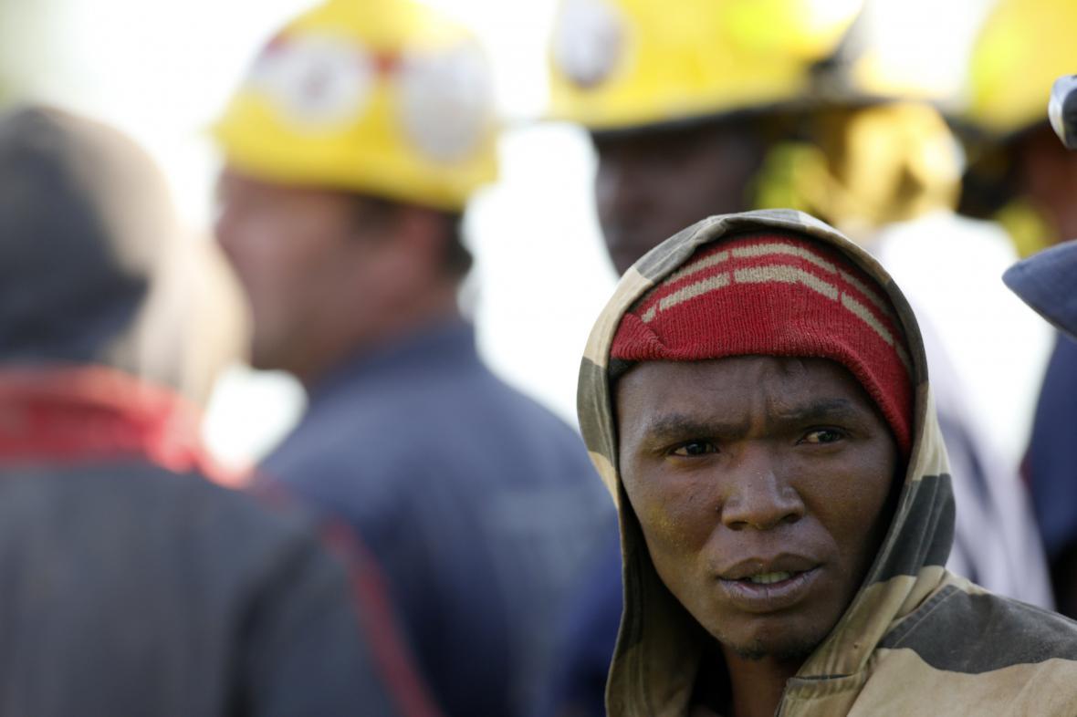 Nelegální horník v Jihoafrické republice