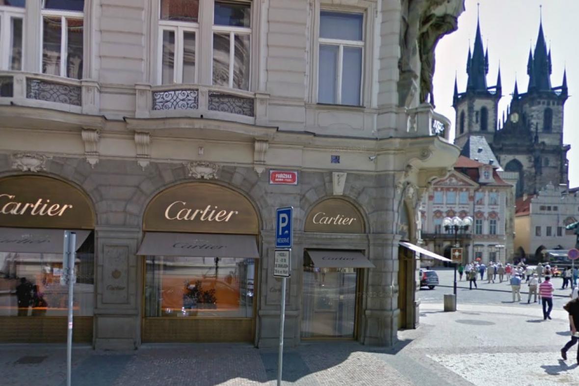 Cartier v Pařížské
