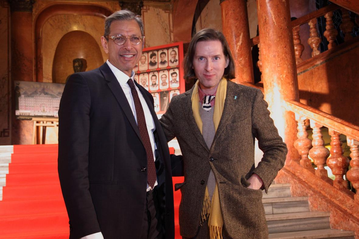Wes Anderson a Jeff Goldblum