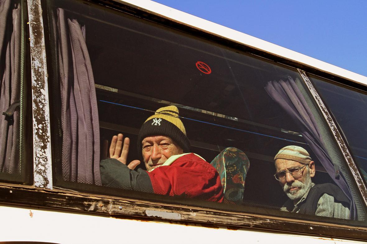 Evakuace Syřanů z Homsu