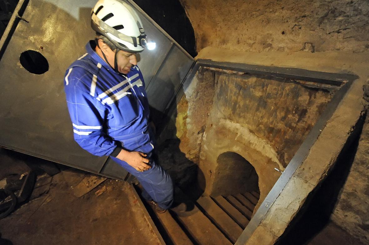 Podzemí chodby