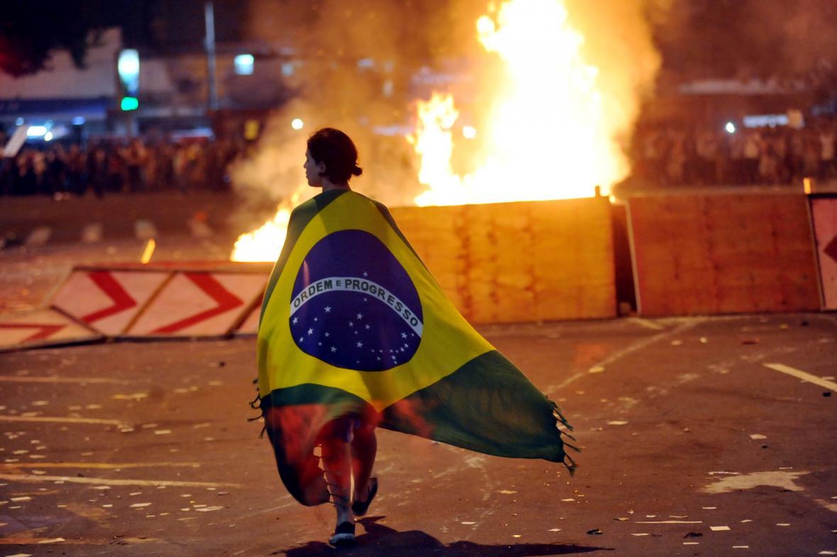 Protesty v Riu de Janeiru