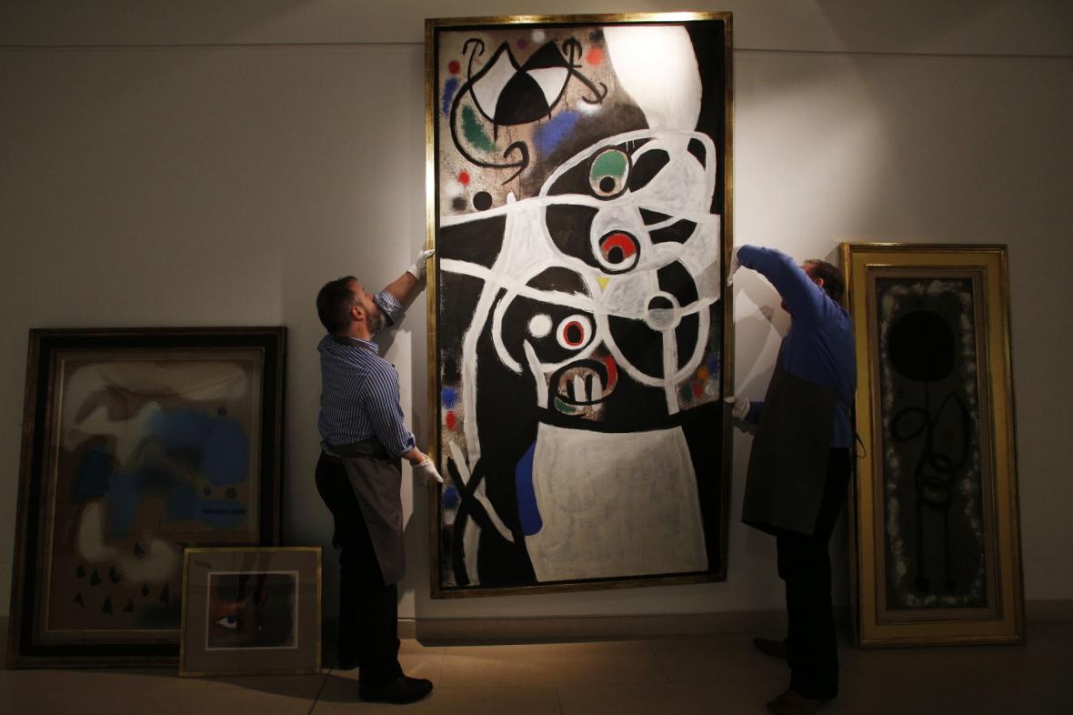 Joan Miró / Ženy a ptáci