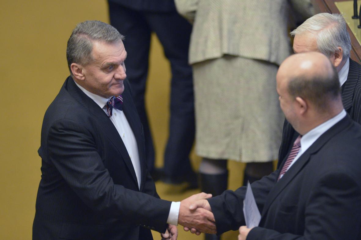Bohuslav Svoboda v Poslanecké sněmovně