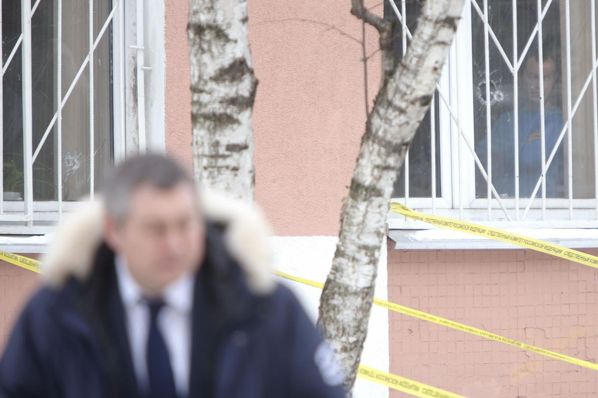 Střelba v moskevské škole