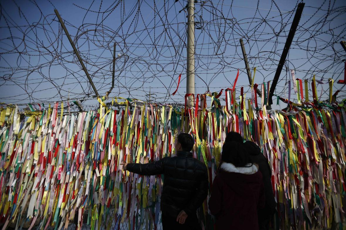 Hranice mezi Severní a Jižní Koreou