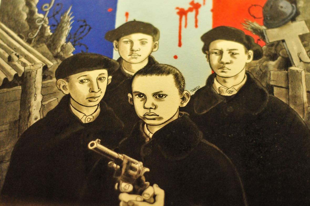 Z komiksu Jacquese Tardiho o první světové válce