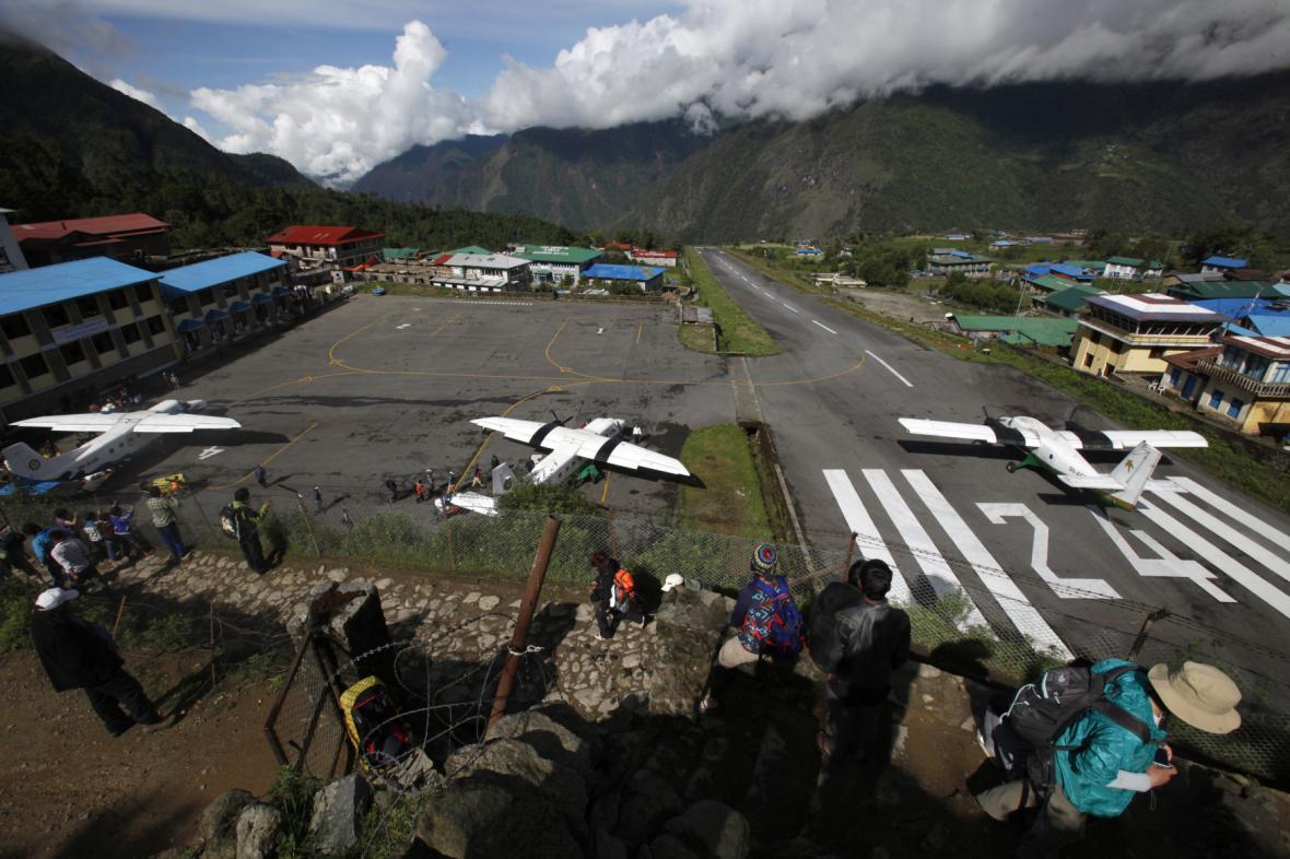 Letiště Edmunda Hillaryho a Tenzinga Norgaye v Nepálu