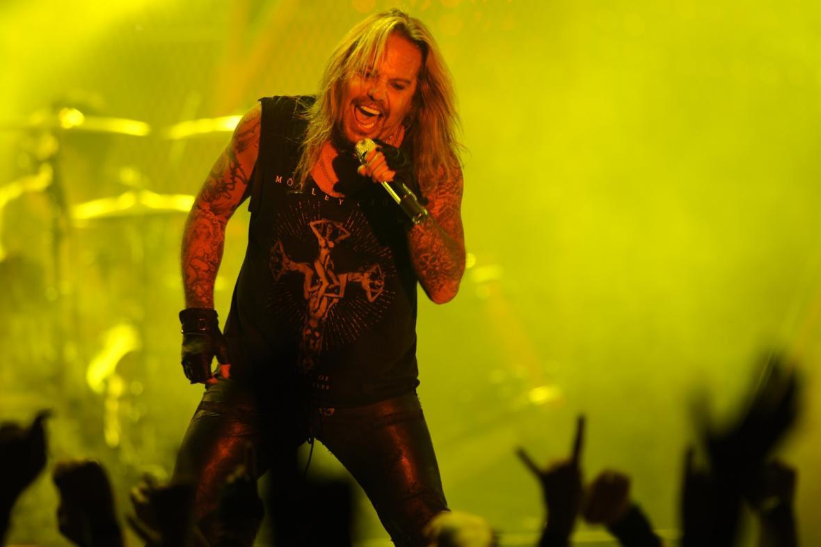 Zpěvák Mötley Crüe Vince Neil