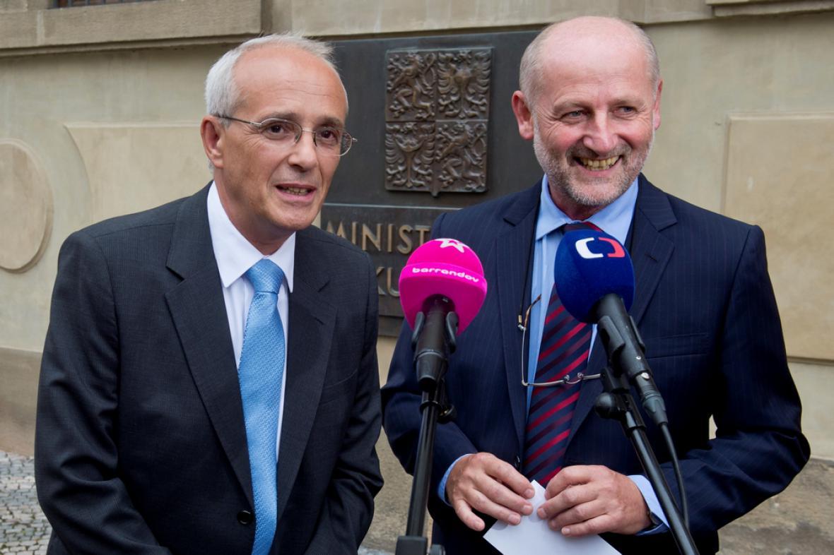 Jan Burian a Jiří Balvín