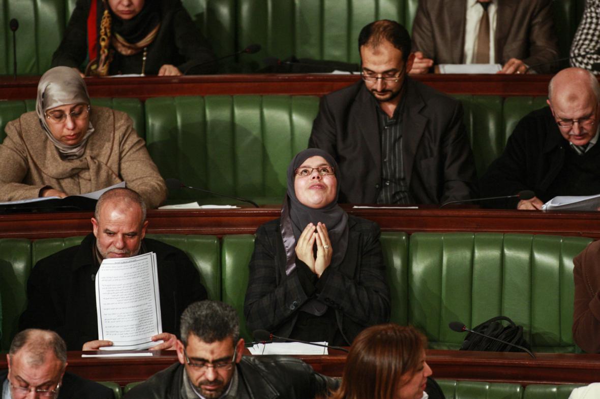Hlasování o nové tuniské ústavě