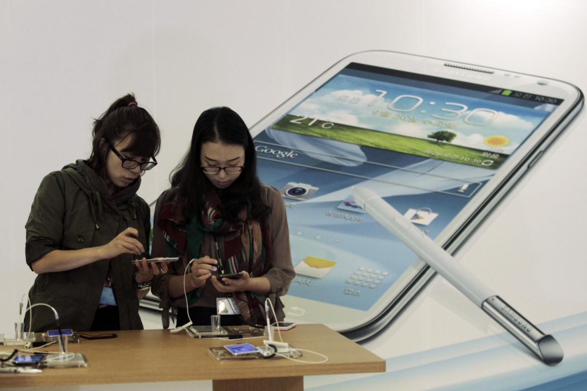Chytré telefony Samsung