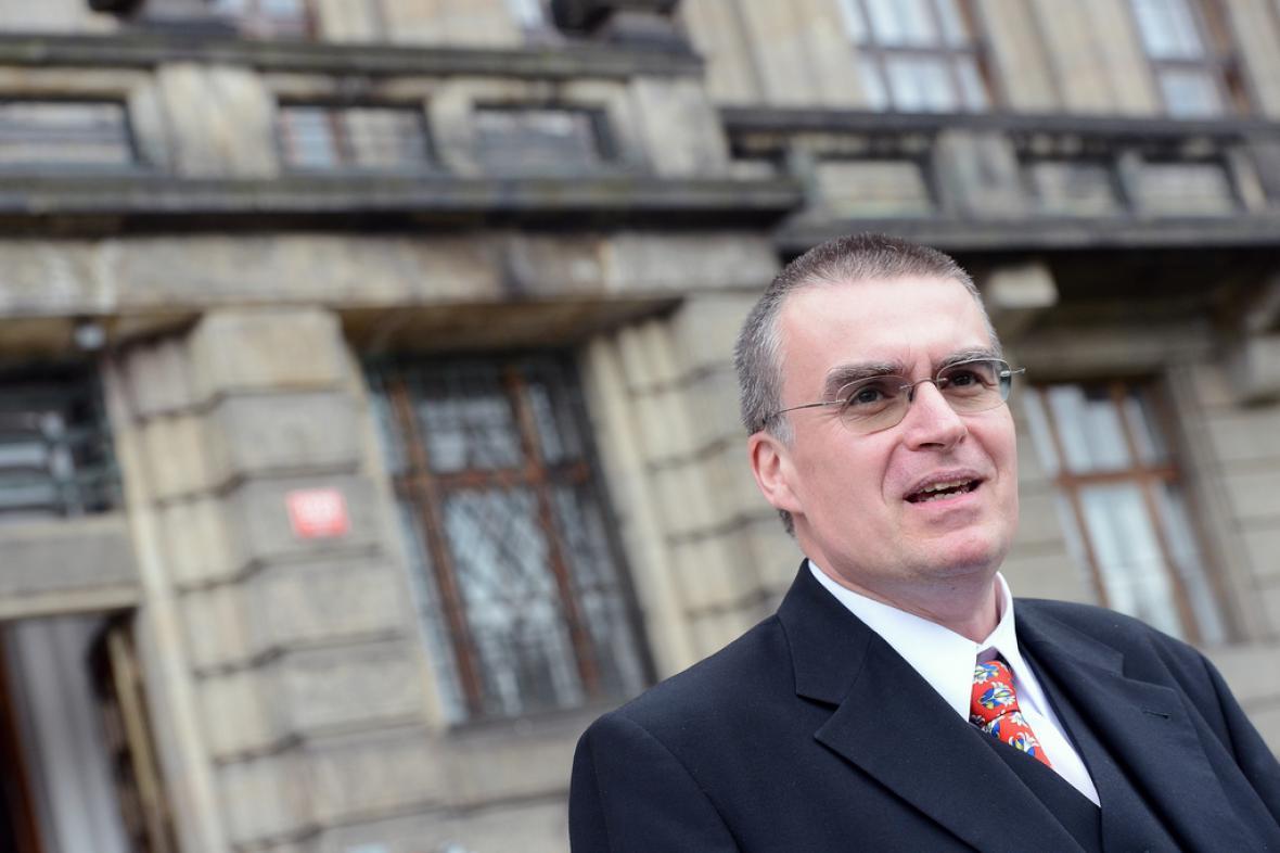 Ministr dopravy Zdeněk Žák