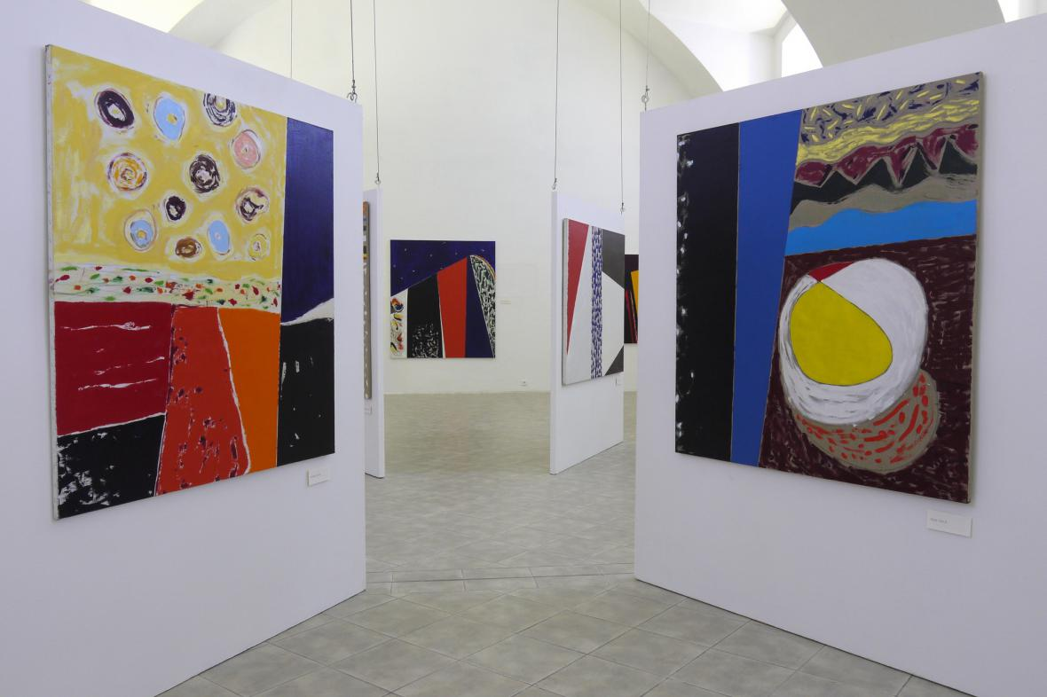 Tutti colori - výstava Ivana Ouhela
