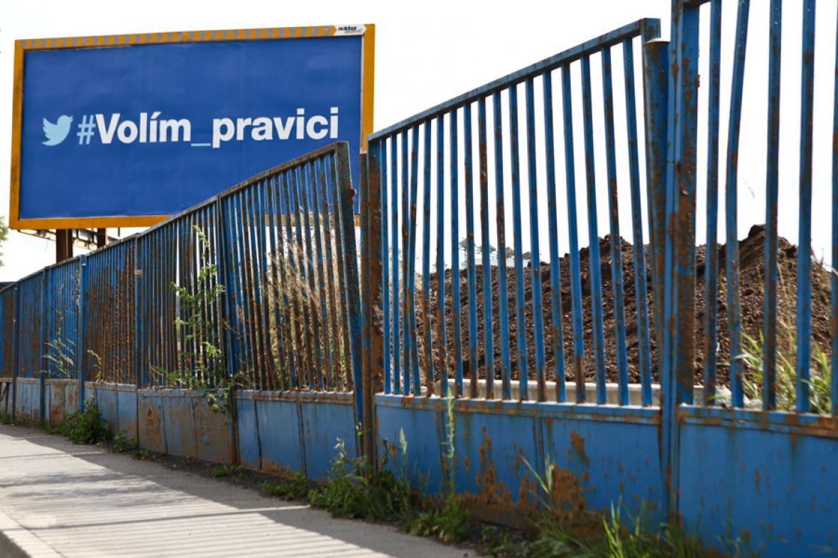 Volební billboardy 2013
