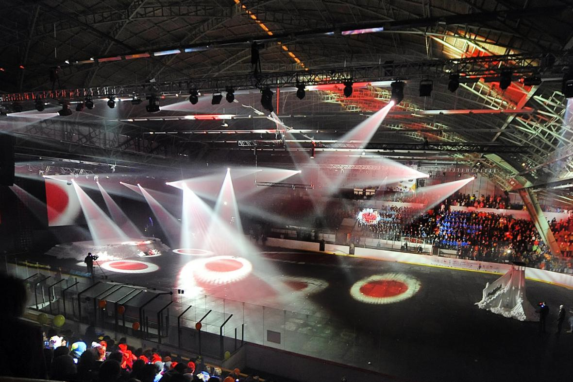 Zahajovací ceremoniál olympiády dětí a mládeže