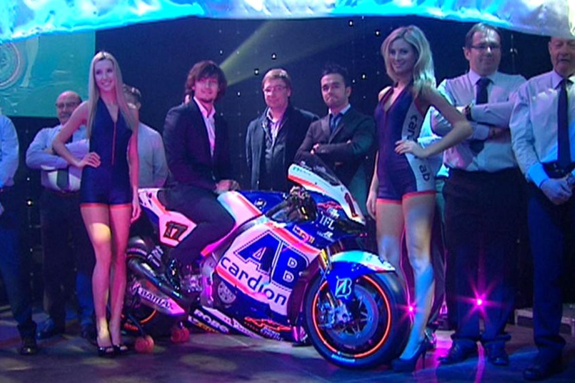 Karel Abraham a jeho nová Honda RCV1000R