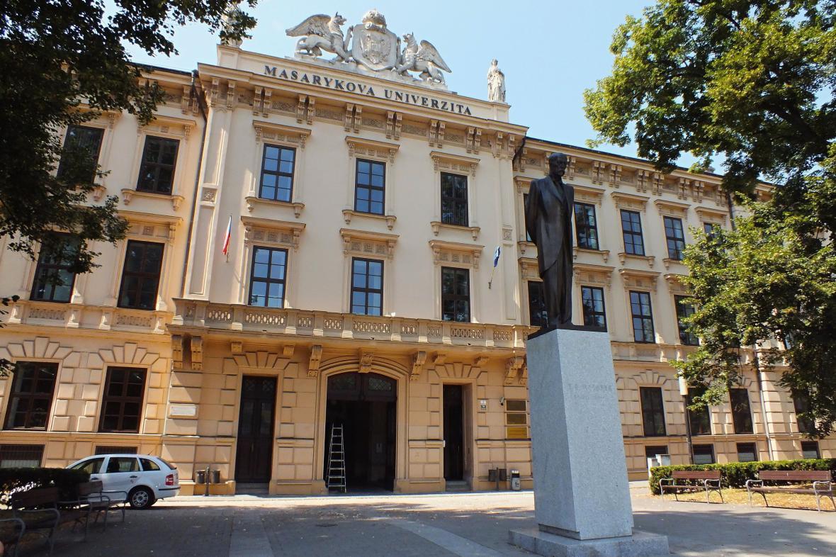 Budova Lékařské fakulty Masarykovy univerzity