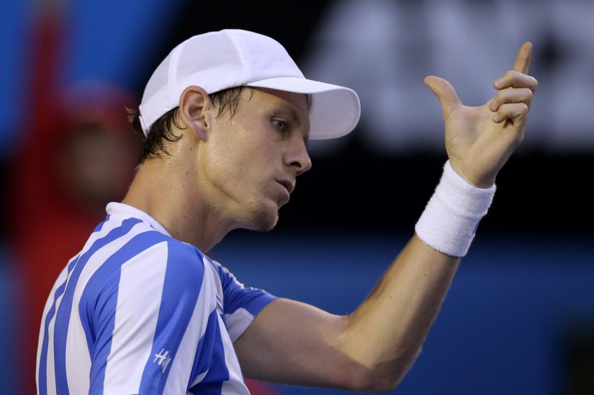 Tomáš Berdych na Australian Open