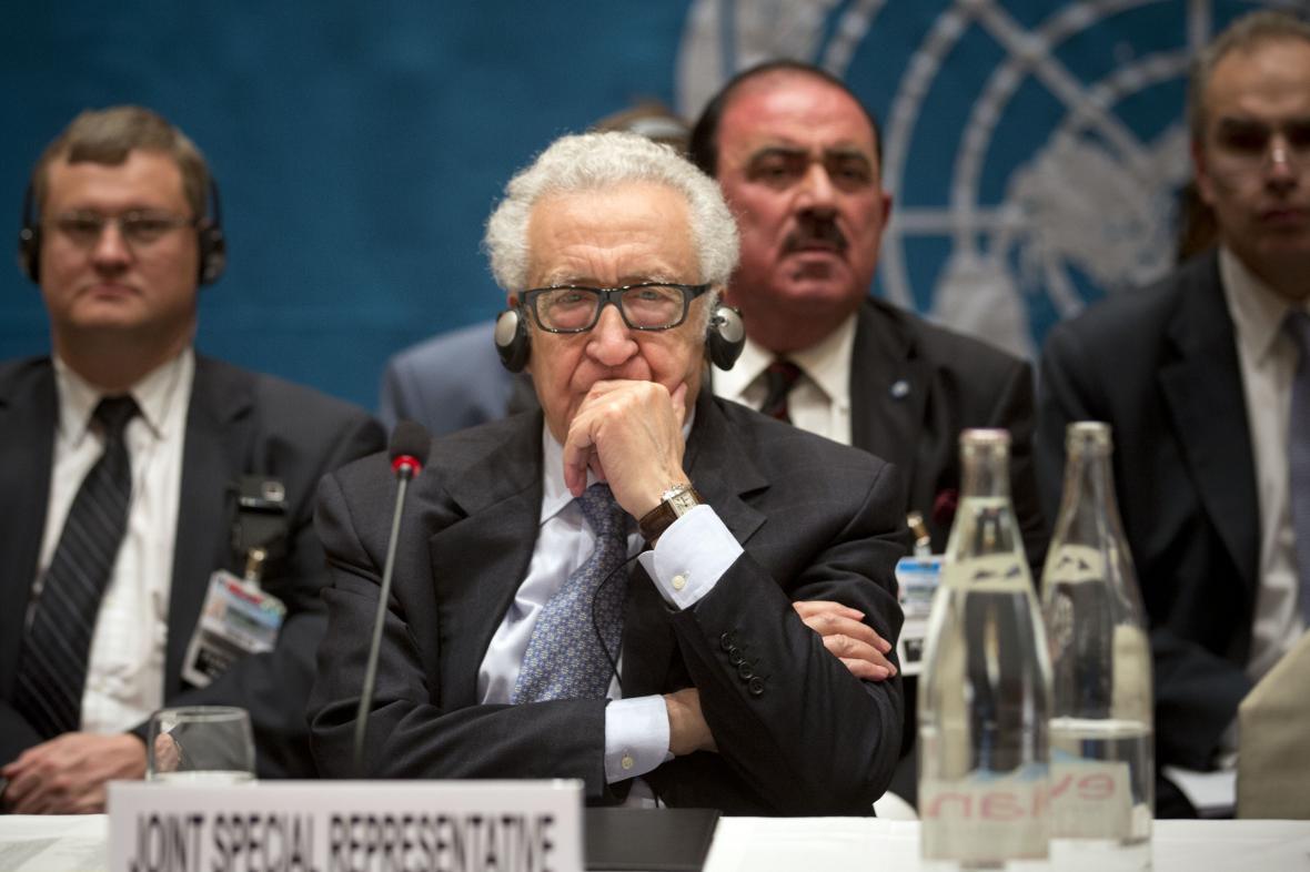 Zmocněnec OSN Lachdar Brahímí