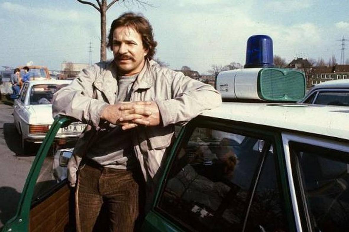 Götz George alias Schimanski v roce 1981
