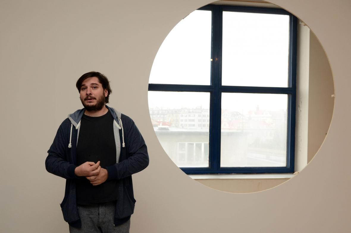 Dominik Lang a jeho instalace v NG