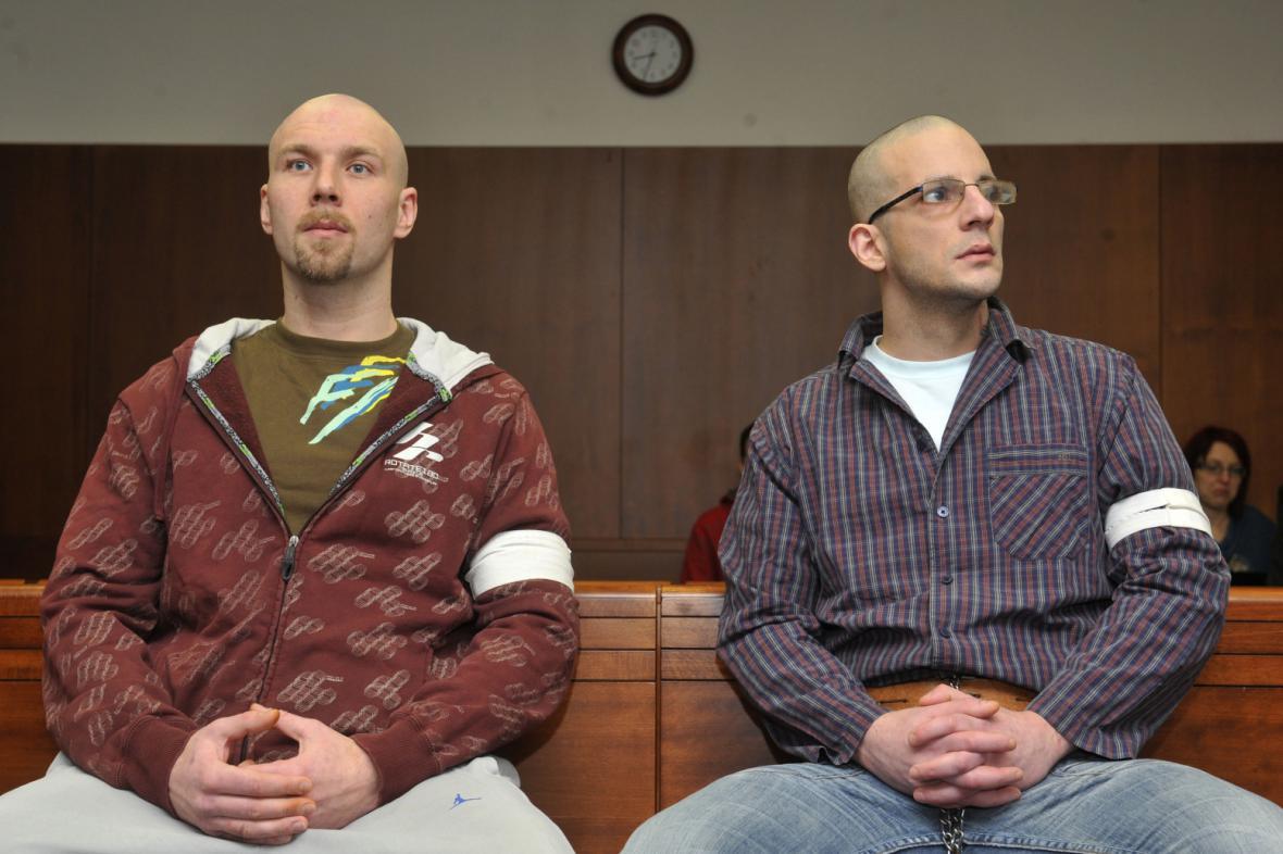 Obžalovaní Lukáš Kluka a Stanislav Krůžela