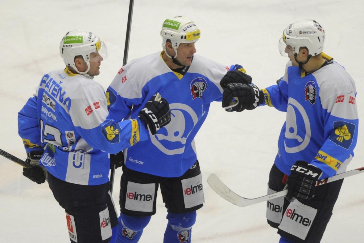 Radost plzeňských hokejistů