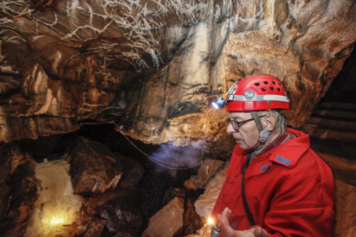 Jeskyňář v Moravském krasu