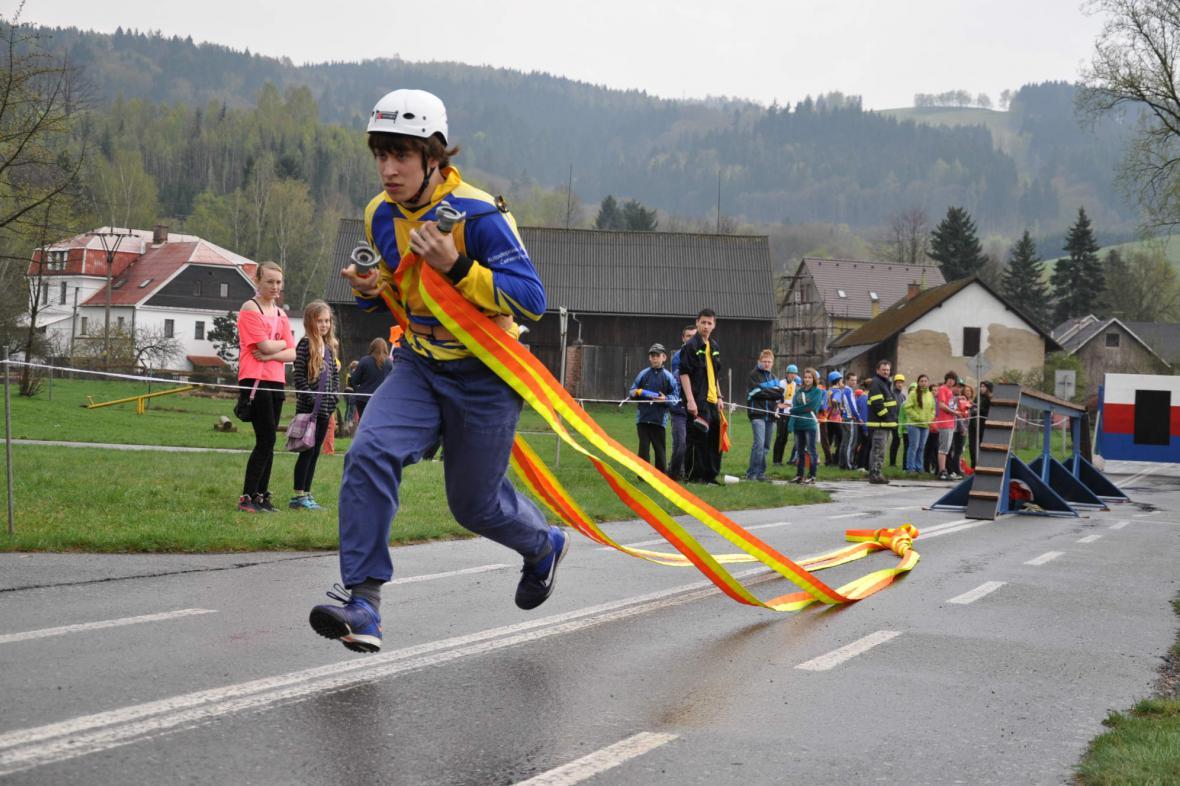 Hasičská soutěž v Bělovsi