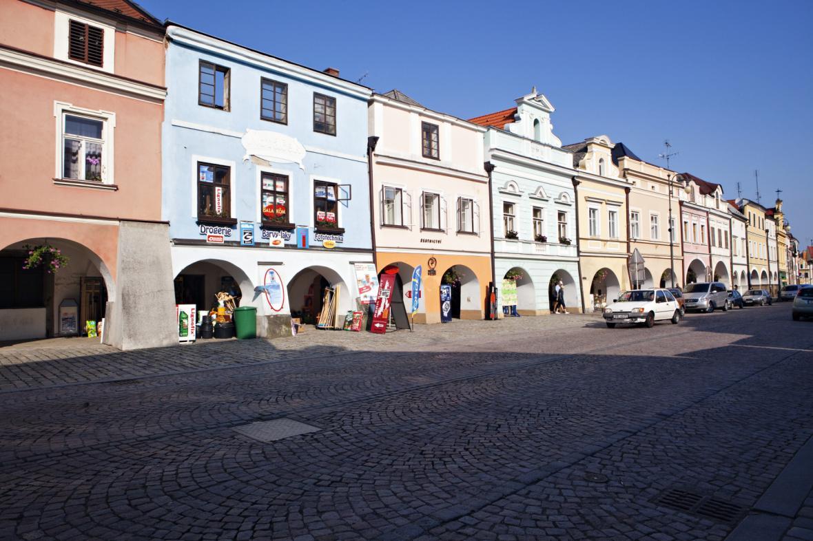 Smetanovo náměstí v Litomyšli