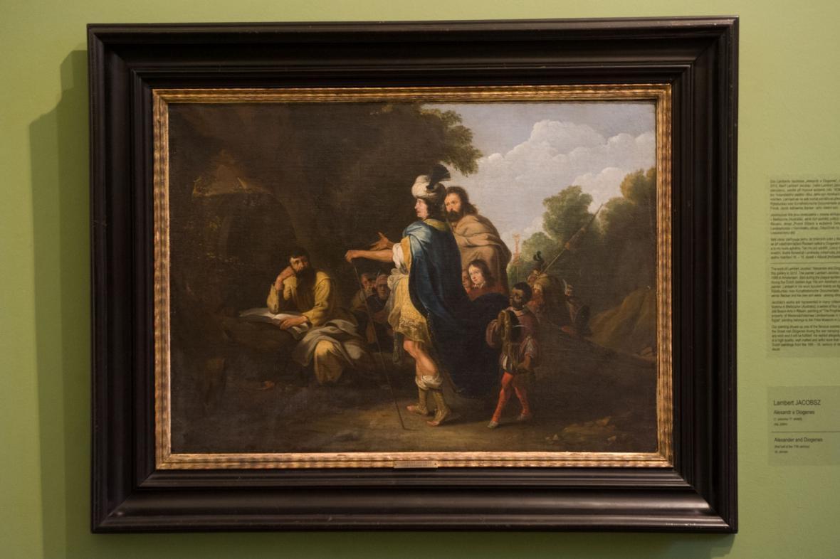 Lambert Jakobsz / Alexandr a Diogenes