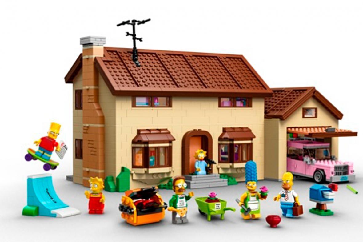 Lego Simpsonovi